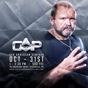 Arn Anderson Pro Wrestling Seminar