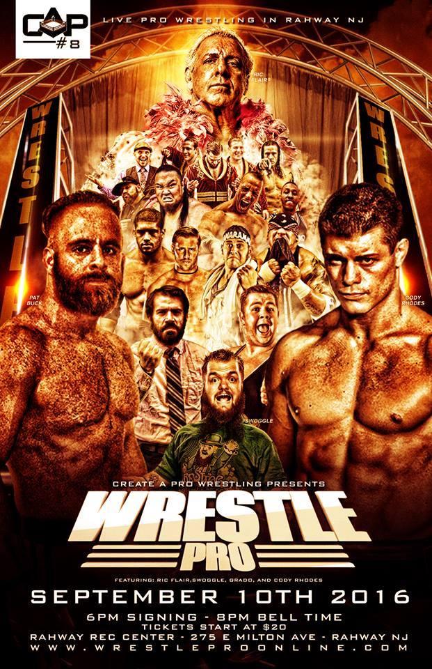 WrestlePro 8 Rahway NJ Sept 10