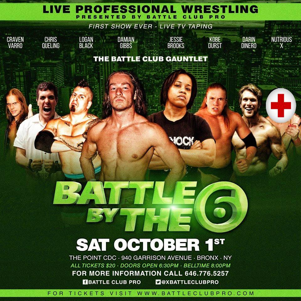 Battle By the 6 Oct 1 Bronx NY