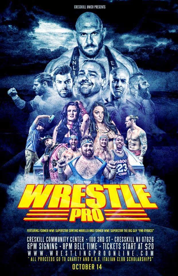 WrestlePro Cresskill NJ