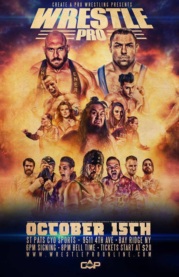 WrestlePro Brooklyn NY October 15 2016
