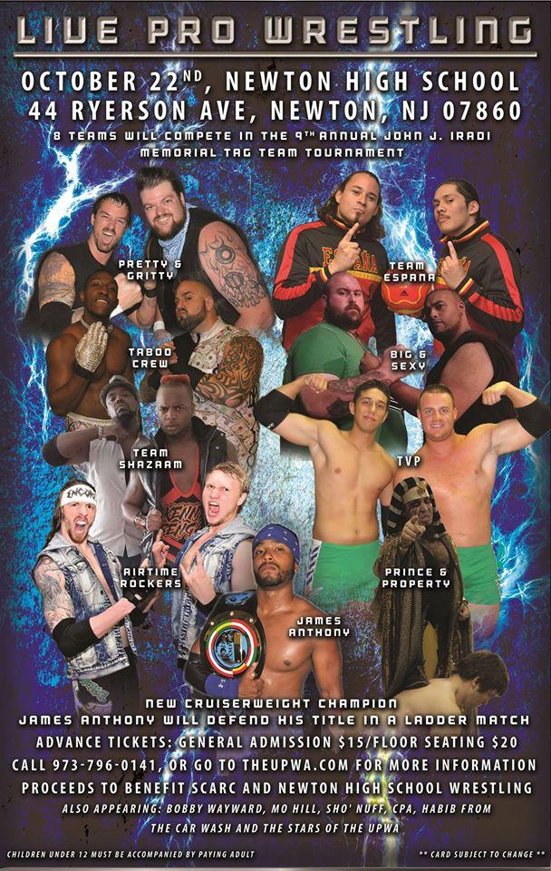 UPWA 9th Annual John J  Iradi Memorial Tag Team Tournament
