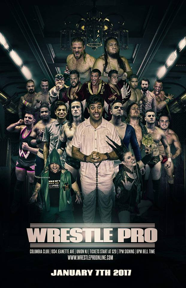 WrestlePro Union NJ January 7