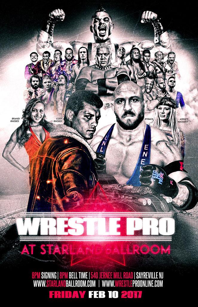WrestlePro Starland Ballroom Feb 10 2017
