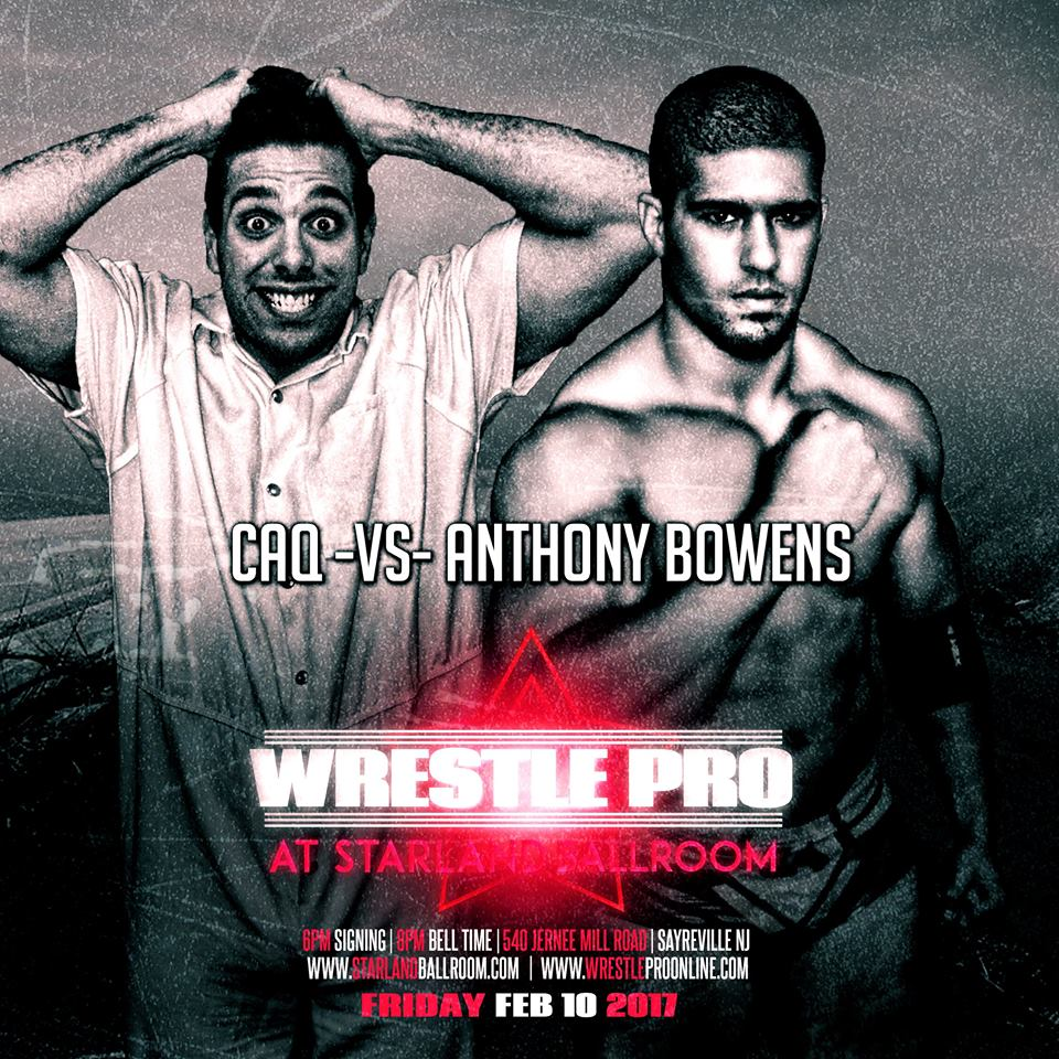 Chris Avery Queling vs Anthony Bowens