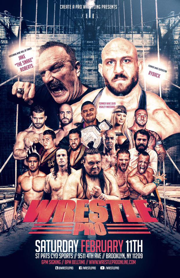 WrestlePro Brooklyn NY Feb 11 2017