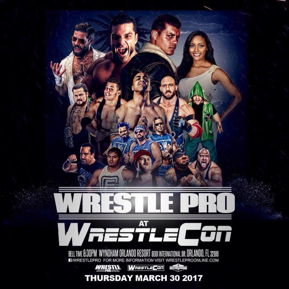 WrestlePro Wrestlecon Orlando FL