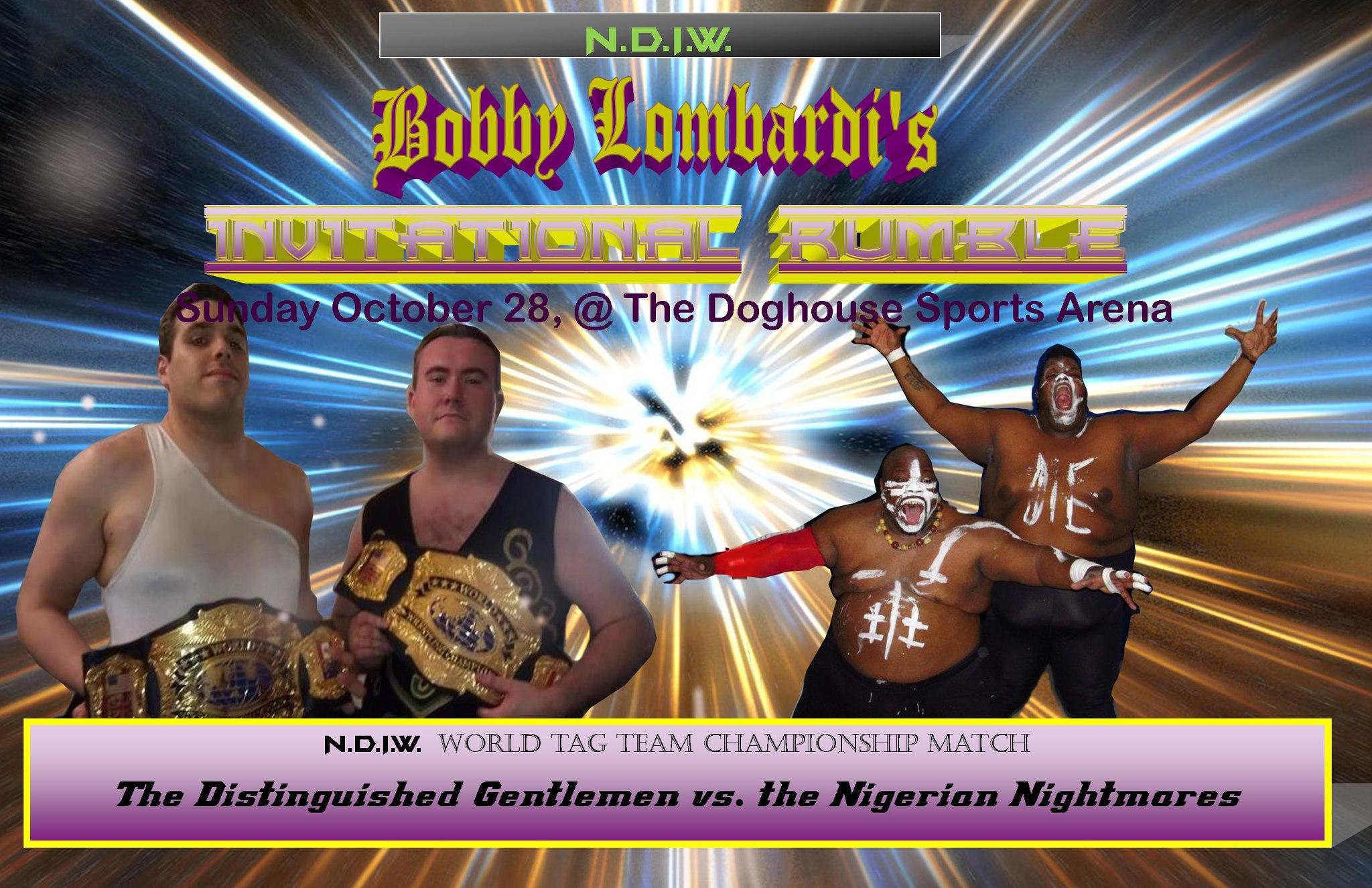Distinguished Gentlemen vs Nigerian Nightmares