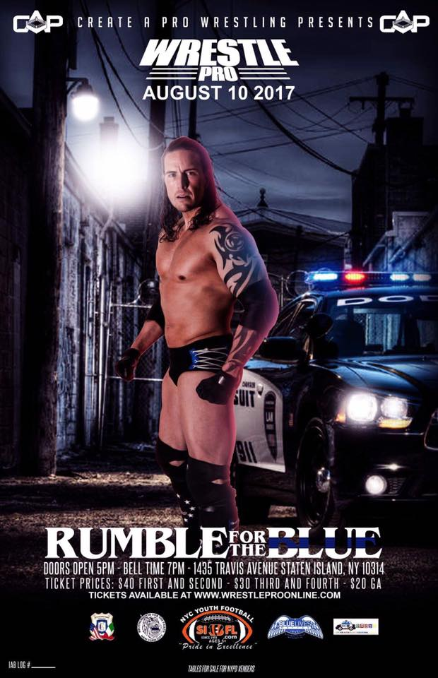 WrestlePro Rumble For the Blue